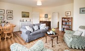 Gamekeeper's Cottage - sitting room