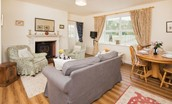 Gamekeeper's Cottage - sitting room area