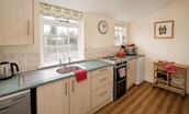 Gamekeeper's Cottage - kitchen