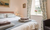 Gamekeeper's Cottage - bedroom one close up