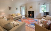Gardener's Cottage - sitting room fireside