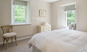 Gardener's Cottage - bedroom one