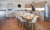 Granary - dining table & kitchen