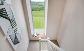 Granary - staircase & window seat