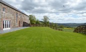 Granary - garden & surrounding countryside