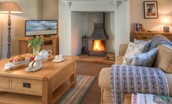 Grove House - fireside