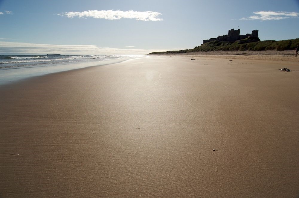 Grove House - Bamburgh beach