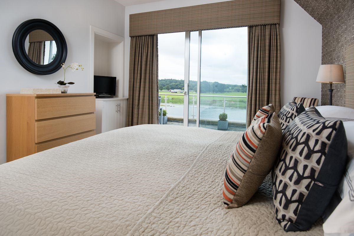 Junction House - bedroom three with river views
