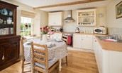 Keepers Cottage - kitchen & dining space