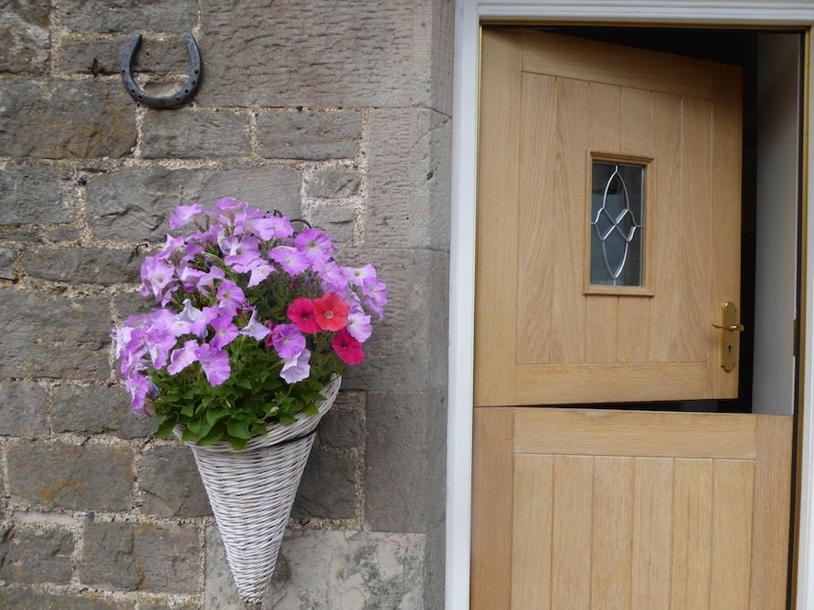 Kersmains Farm Cottage - front door