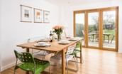 Leitholm Cottage - dining area