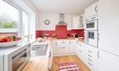 Leitholm Cottage - kitchen