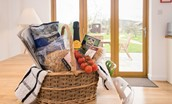 Leitholm Cottage - welcome basket