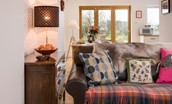 Leitholm Cottage - seating area