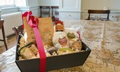 Merchant's House - welcome basket