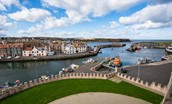 Merchant's House - view from property over Eyemouth harbour