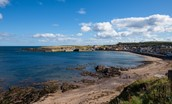 Merchant's House - Eyemouth beach