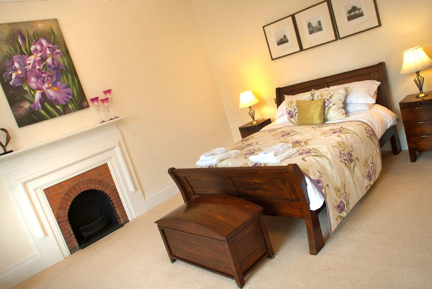 Middleton Hall - double bedroom