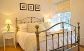 Middleton Hall Coach House - bedroom with double bed