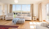 Mill Dowrie - sitting room with views