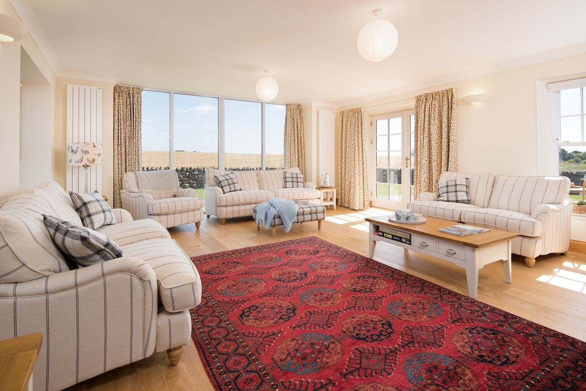 Mill Dowrie - spacious sitting room