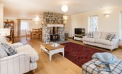 Mill Dowrie - open plan living area