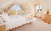 Mill Dowrie - bedroom two with views