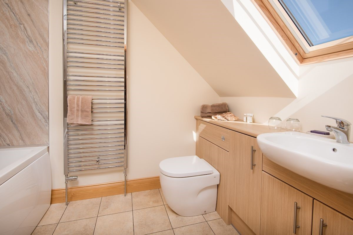 Mill Dowrie - bedroom three en suite bathroom