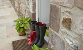 Mill Race - wellies on the doorstep