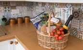 Newton Cottage - welcome basket