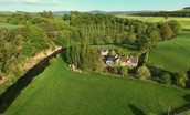 Old Mill Cottage - aerial