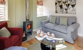 Old Nenthorn Cottage - sitting room