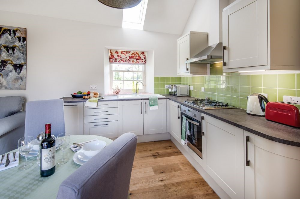 Old Nenthorn Cottage - kitchen & dining area