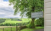 Pathhead Farmhouse - signage