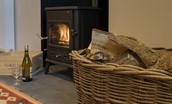 Pathhead Farmhouse - fireside