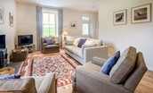 Pathhead Farmhouse - sitting room area
