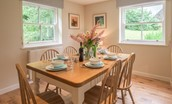 Pathhead Farmhouse - dining table
