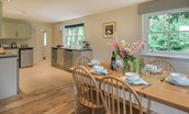 Pathhead Farmhouse - kitchen area