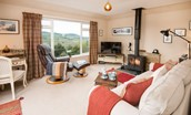 Pennine Way Cottage - sitting room