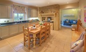 Rennington House - kitchen & snug