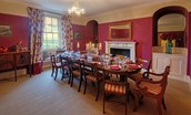 Rennington House - dining room