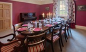 Rennington House - dining table