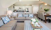 Sandpiper - open plan living area
