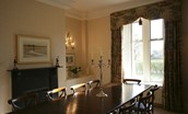 St Cuthbert's Farmhouse - dining room area