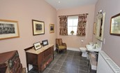 Steward's House - cloakroom