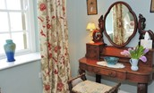 Steward's House - bedroom two dressing table