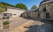 The Barn & The Cowshed - courtyard