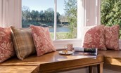 The Boathouse - sitting room window seat