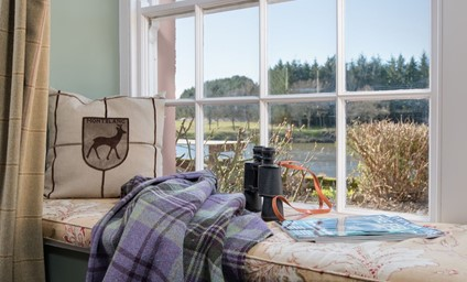 Every living space and bedroom benefits from incredible views over the River Tweed. If you are lucky, you might spot one of the cheeky otters!