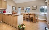 The Boathouse - kitchen area